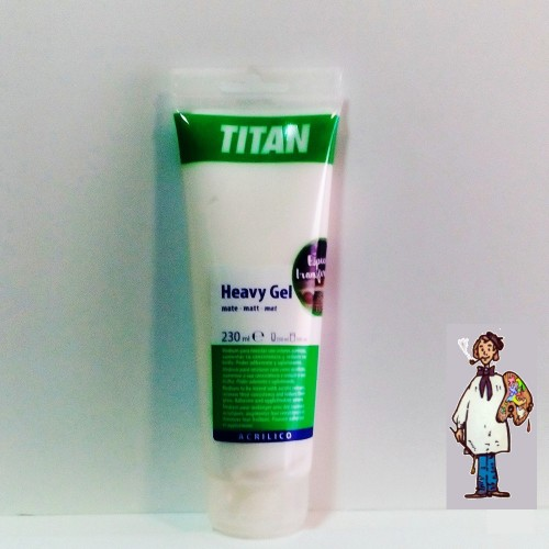 GEL EXTRADENSO MATE TUBO 230ML TITAN