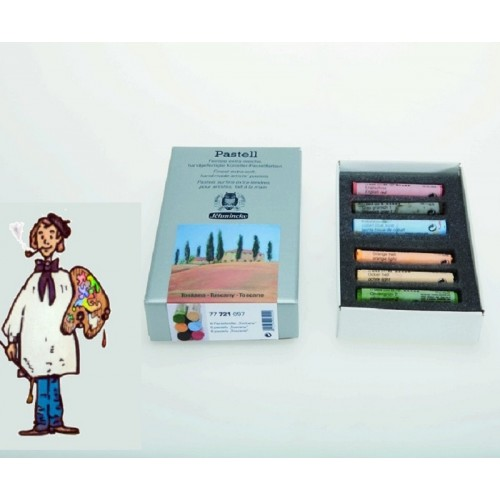 """Pastel Schmincke Caja cartón con 6 pasteles """"Toscana"""""""