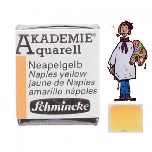 "ACUARELA SCHMINCKE ""AKADEMIE"" 1/2 GODET AMARILLO NÁPOLES 226"