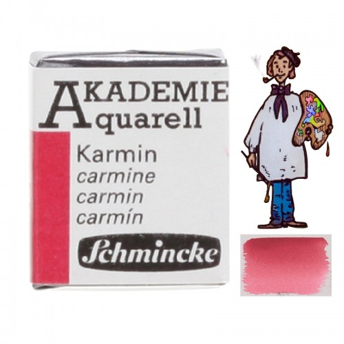 """ACUARELA SCHMINCKE """"AKADEMIE"""" 1/2 GODET CARMÍN 333"""