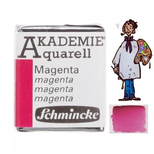 """ACUARELA SCHMINCKE """"AKADEMIE"""" 1/2 GODET MAGENTA 336"""