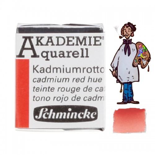 """ACUARELA SCHMINCKE """"AKADEMIE"""" 1/2 GODET ROJO CADMIO IMIT 332"""