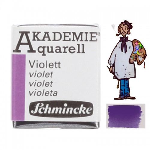 """ACUARELA SCHMINCKE """"AKADEMIE"""" 1/2 GODET VIOLETA 440"""