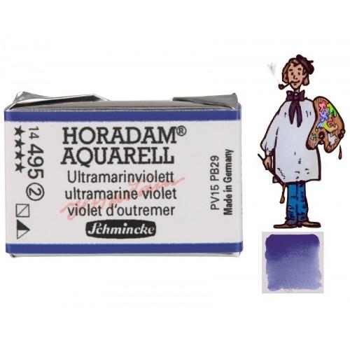 ACUARELA Horadam Godet S2 . VIOLETA ULTRAMAR  - 495
