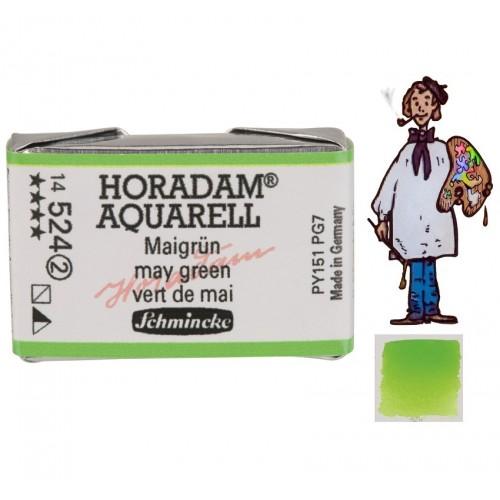 ACUARELA Horadam Godet  S2 . VERDE PRIMAVERA- 524