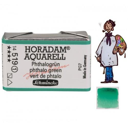 ACUARELA Horadam Godet S1 . VERDE FTALOCIANINA  - 519