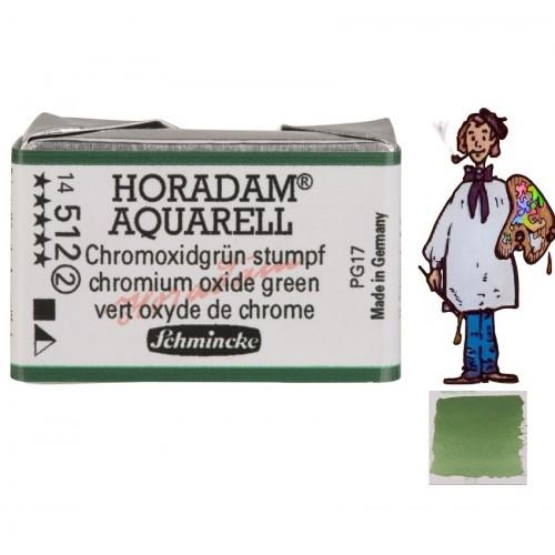 ACUARELA Horadam Godet VERDE DE CROMO OPACO S2. - 512