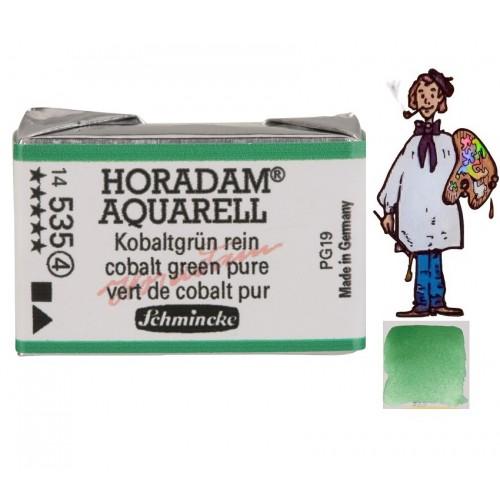ACUARELA Horadam Godet VERDE DE COBALTO PURO S4. - 535