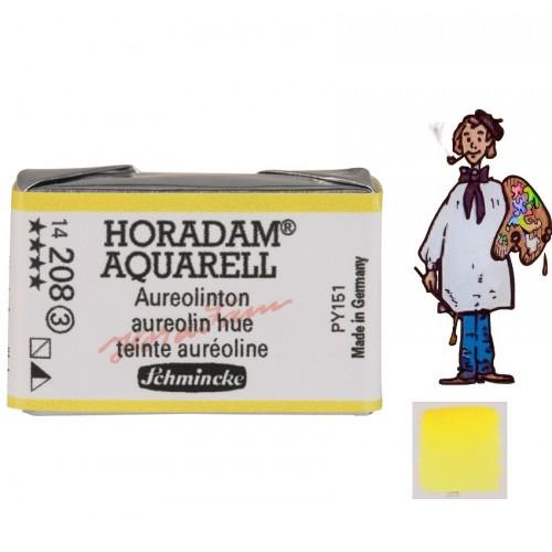 ACUARELA Horadam Godet  S3 . AMARILLO AUREOLINA MODERNO - 208