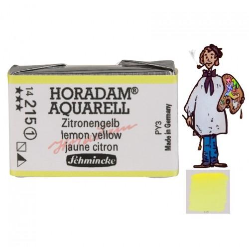ACUARELA Horadam Godet  S1 . AMARILLO LIMÓN  - 215
