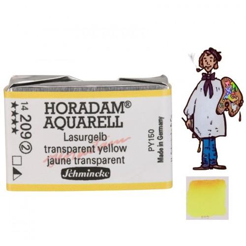 ACUARELA Horadam Godet  S2 . AMARILLO TRANSPARENTE - 209