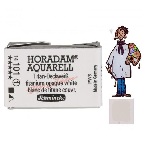 ACUARELA Horadam Godet  S1. BLANCO DE TITANIO - 101
