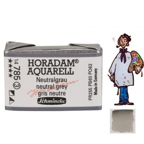 ACUARELA Horadam Godet  S3 . GRIS NEUTRO - 785