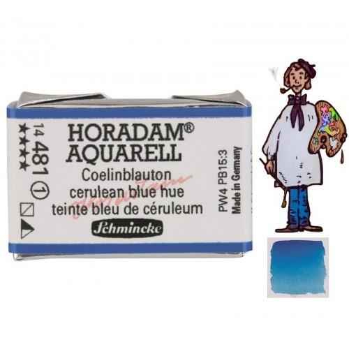 ACUARELA Horadam Godet  S1 .  AZUL CELESTE TONO - 481