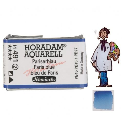 ACUARELA Horadam Godet AZUL DE PARÍS S2. - 491