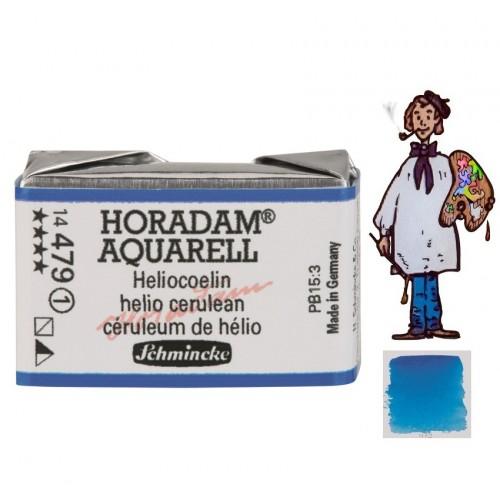 ACUARELA Horadam Godet  S1 .CELESTE DE HELIO - 479