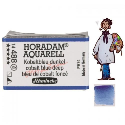 ACUARELA Horadam Godet AZUL COBALTO OSCURO S4 . - 488