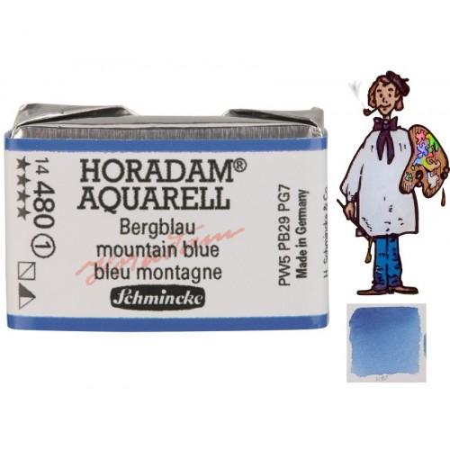 ACUARELA Horadam Godet  S1 .  AZUL MONTAÑA - 480