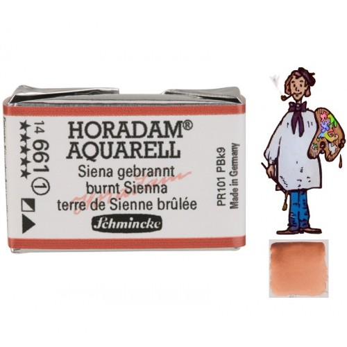 ACUARELA Horadam Godet  S1 . SIENA TOSTADA- 661