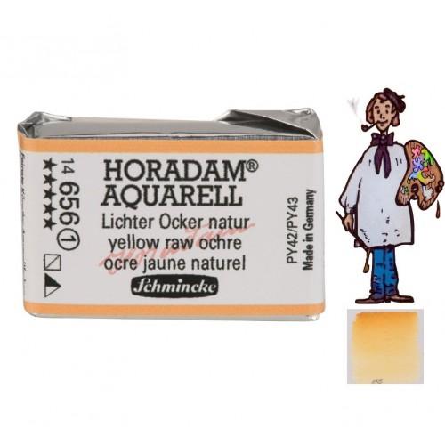 ACUARELA Horadam Godet  S1 . OCRE AMARILLO NATURAL- 656