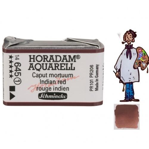 ACUARELA Horadam Godet  S1 . ROJO INDIO- 645