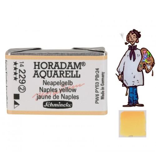 ACUARELA Horadam Godet AMARILLO NÁPOLES S2. - 229