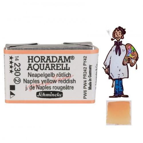 ACUARELA Horadam Godet AMARILLO NÁPOLES ROJIZO S2. - 230