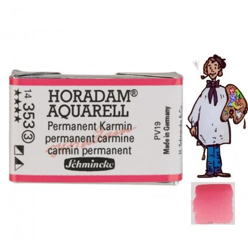 ACUARELA Horadam Godet S3 . CARMÍN PERMANENTE- 353