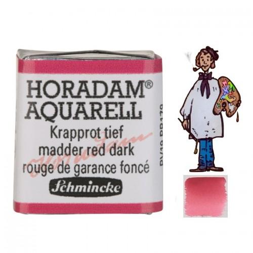 ACUARELA Horadam ½ Godet CARMÍN DE GARANZA OSCURO S3. - 354