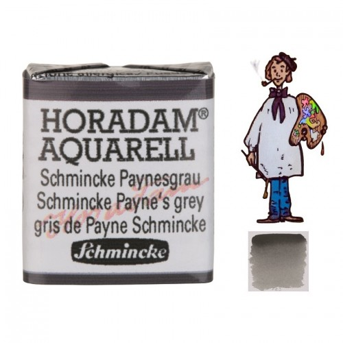 ACUARELA Horadam ½ Godet GRIS PAYNE SCHMINCKE S1. - 783
