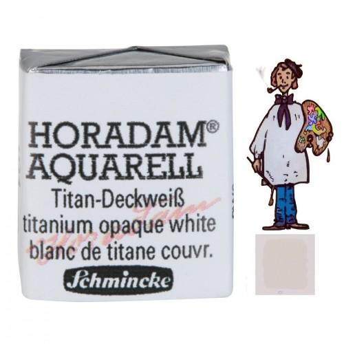 ACUARELA Horadam ½ Godet BLANCO DE TITANIO S1. - 101