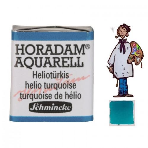 ACUARELA Horadam ½ Godet TURQUESA DE HELIO S1. - 475