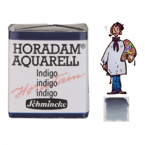 ACUARELA Horadam ½ Godet ÍNDIGO S2. - 485