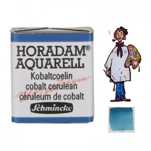 ACUARELA Horadam ½ Godet CELESTE DE COBALTO S4. - 499