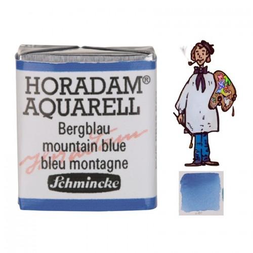 ACUARELA Horadam ½ Godet AZUL MONTAÑA S1. - 480