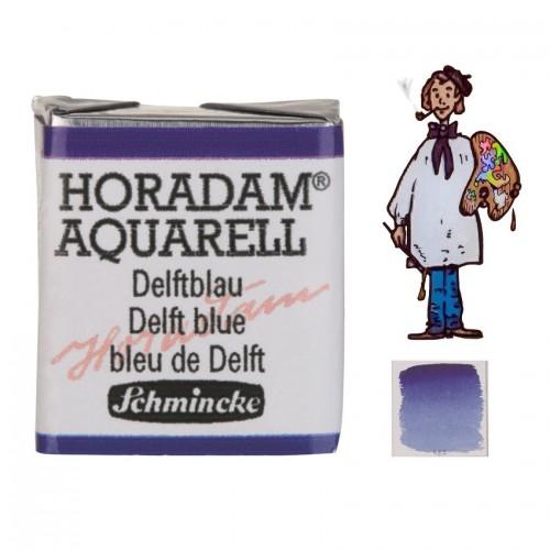 ACUARELA Horadam ½ Godet AZUL DELFT S3. - 482