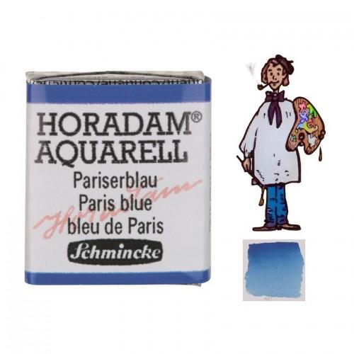ACUARELA Horadam ½ Godet AZUL DE PARÍS S2. - 491