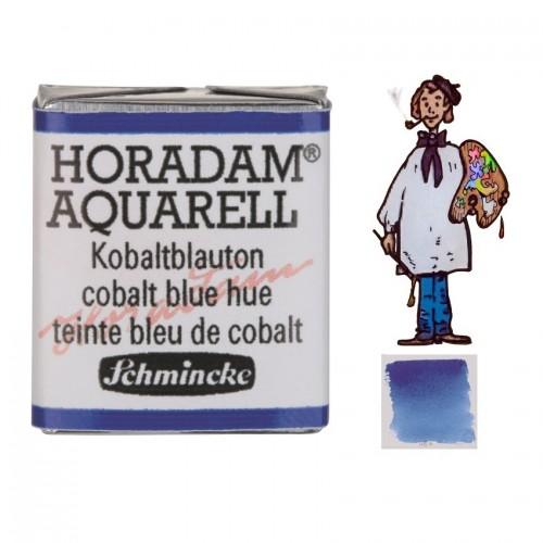 ACUARELA Horadam ½ Godet AZUL COBALTO TONO S1. - 486