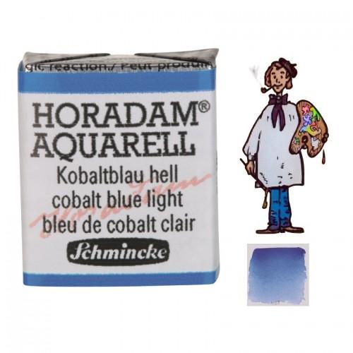 ACUARELA Horadam ½ Godet AZUL COBALTO CLARO S4. - 487