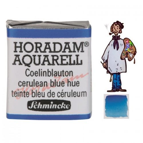 ACUARELA Horadam ½ Godet AZUL CELESTE TONO S1 . - 481