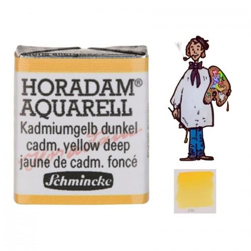 ACUARELA Horadam ½ Godet AMARILLO CADMIO OSCURO S3. - 226
