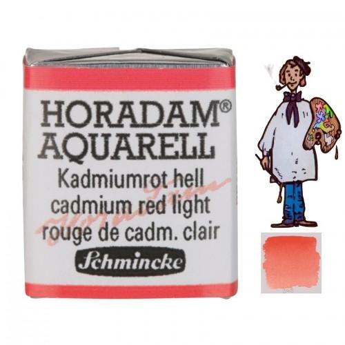ACUARELA Horadam ½ Godet  ROJO CADMIO CLARO S3 . - 349