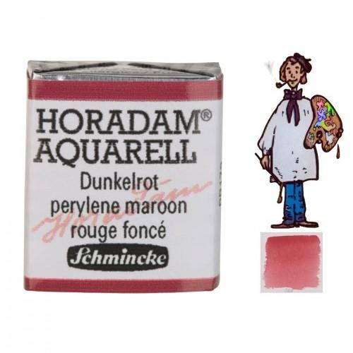 ACUARELA Horadam ½ Godet  ROJO OSCURO S3. - 366