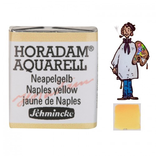 ACUARELA Horadam ½ Godet  AMARILLO NÁPOLES S2. - 229