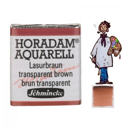 ACUARELA Horadam ½ Godet  PARDO TRANSPARENTE S2. - 648
