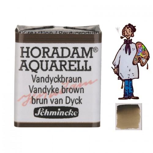 ACUARELA Horadam ½ Godet PARDO VAN DYCK S1. - 669
