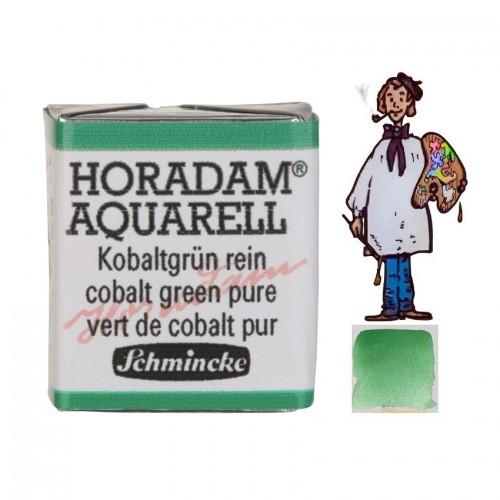 ACUARELA Horadam ½ Godet  VERDE DE COBALTO PURO S4. - 535