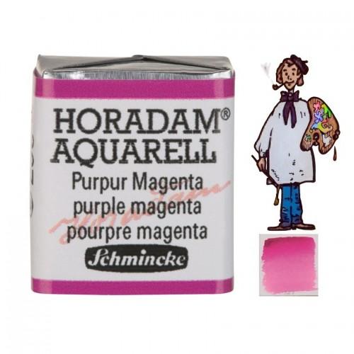 ACUARELA Horadam ½ Godet  PÚRPURA MAGENTA S3. - 367