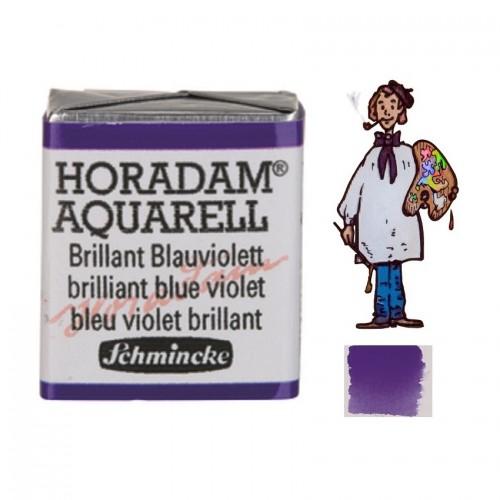 ACUARELA Horadam ½ Godet  AZUL VIOLETA BRILLANTE S2. - 910