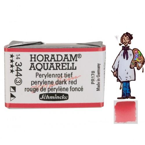 ACUARELA Horadam Godet  ROJO DE PERILENO OSCURO  S3 .- 344